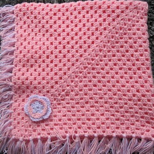 PINK & LILAC BLANKET