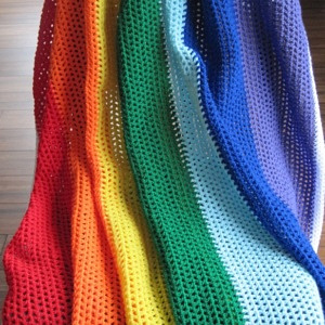 Rainbow Blanket Large (2)